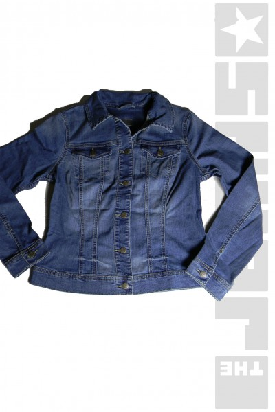 52001 Jeansjacke Used Wash