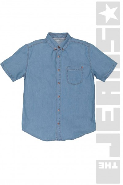 Hemd Button Down Bleached