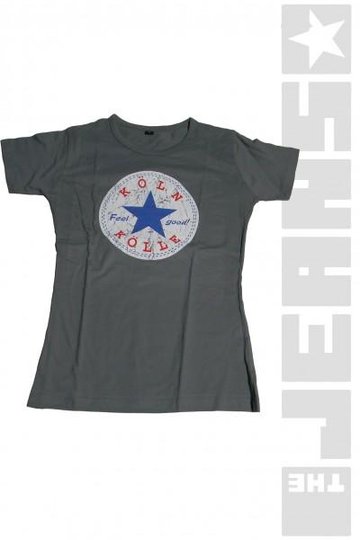 T-Shirt-Köln-Grau