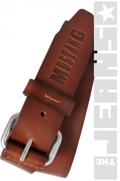 Trendiger Mustang Saturno Ledergürtel 40 mm