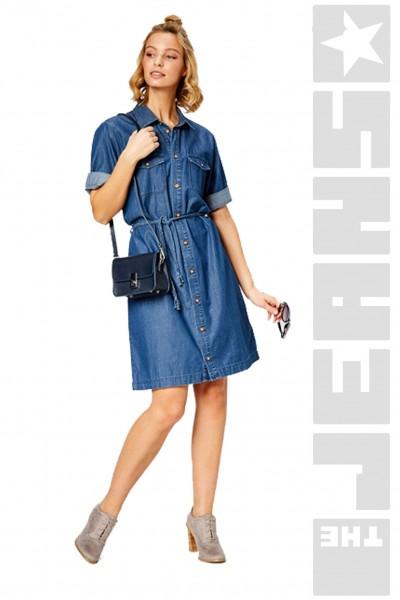 Jeanskleid Medium Blue