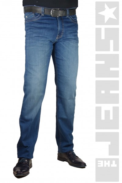 Carter Medium Blue Washed