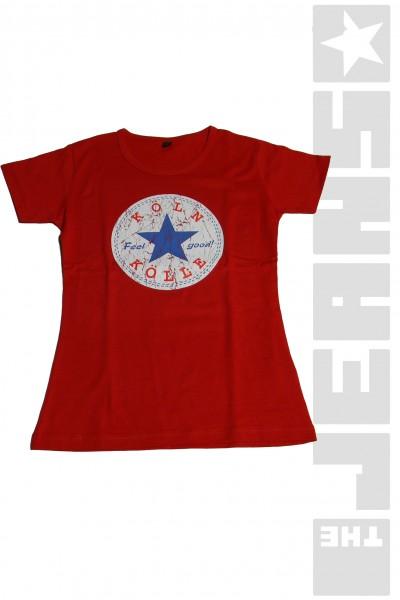 T-Shirt-Köln-Rot