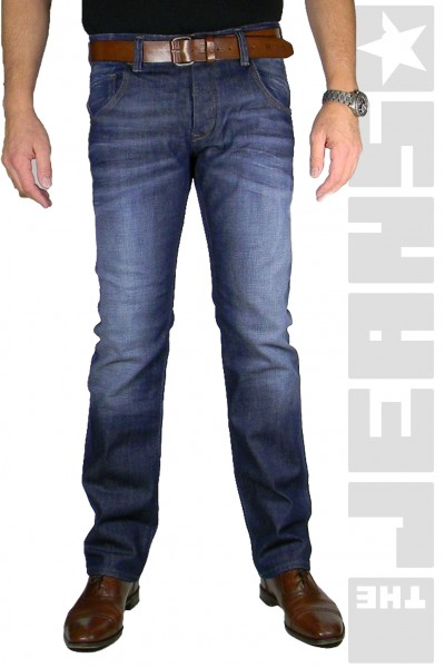 Marlon Blue Stretch Denim