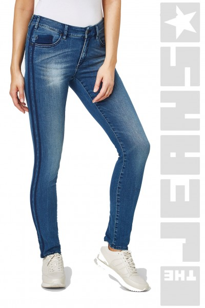Lucy Shape Denim - Vintage Medium Stone Blue Wash