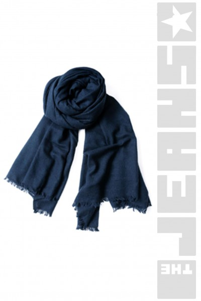 Damenschal Big Wowen Wool Bluemelange