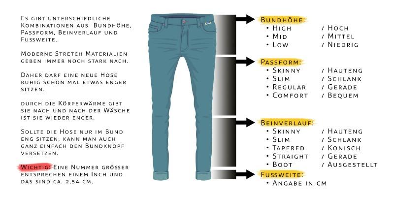 e56e263bcd95f3 Jeans in Übergröße und Überlänge online kaufen